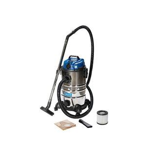 Wet & dry vacuum cleaner ASP 30-ES, blower function, Scheppach