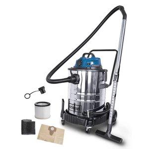 Putekļu sūcējs sausai un slapjai sūkšanai ASP 50-ES, Scheppach