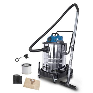 Wet & dry vacuum cleaner ASP 50-ES, blower function, Scheppach