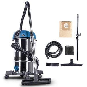 Wet & dry vacuum cleaner NTS 30 Premium, blower function, Scheppach