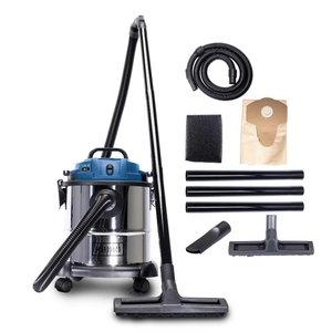 Wet & dry vacuum cleaner NTS 20, blower function, Scheppach
