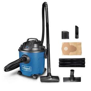 Wet & dry vacuum cleaner NTS 16, blower function, Scheppach