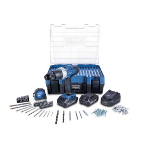 DTB20ProS Mobile Workshop, 206pcs, 2x2,0  Ah, Scheppach