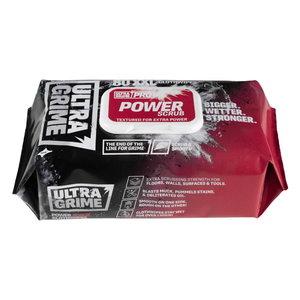 Wet cleaning wipes UltraGrime PRO Power Scrub