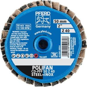 Vėduoklinis diskas CD-PFF 50 z  40, Pferd