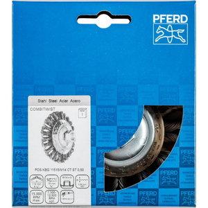 Flaring Cup Brush 115x15xM14 CT steel 0,5 KBG COMBITWIST SGP, Pferd