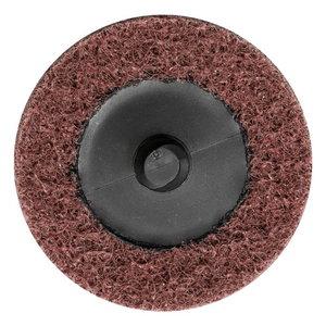 Non-woven disc 50mm A180 FINE VRW CDR (Roloc), Pferd