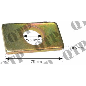 Bottom fork plate, Quality Tractor Parts Ltd