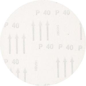 Diskas velcro d-150mm P40 Hookit  be skylių