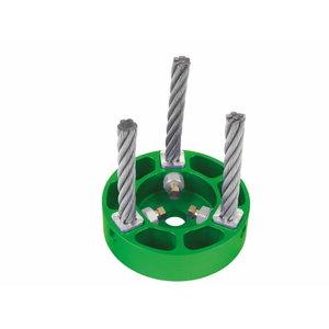 Kivipuhastushari võsalõikurile 130 mm, ava 20/25,4mm, Ratioparts