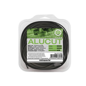 Valas nailoninis 2,0mm x 15m Hybrid Twist Alu-Cut, Ratioparts