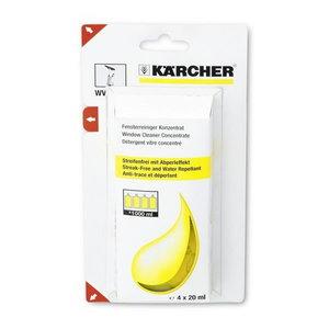 Līdzeklis logu mazgāšanai, koncentrāts, 4 x 20 ml, Kärcher