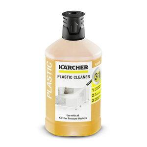"""Plug 'n' Clean plastmassi puhastusvahend """"3 in one"""", 1 l, Kärcher"""