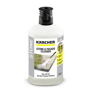 """Detergent stone surfaces and facades """"3 in one"""", 1 l, Kärcher"""