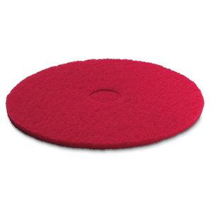 Polüesterketas 356 mm, pehme punane, 5tk, Kärcher
