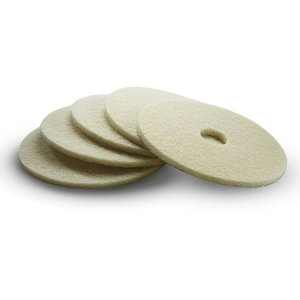 Polishing pad beige 432 mm, Kärcher