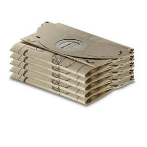 Popieriniai filtrų maišeliai SE 5001, 5 vnt., Kärcher