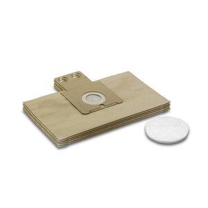 Filter bags RC 3000 5pcs + microfilter, Kärcher