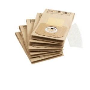 Popieriniai filtrų maišeliai A2701, 5vnt., Kärcher