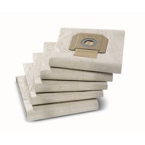 Popieriniai filtrų maišeliai NT 65/2, NT 48/1, 5vnt., Kärcher