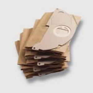 Popieriniai filtrų maišeliai A2004, A2064,WD 2, 5vnt, Kärcher