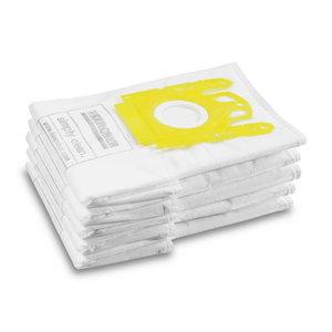 Popieriniai filtrų maišeliai VC siurbliams, 5 vnt, Kärcher