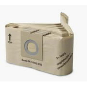 Popieriniai filtrų maišeliai T 111/151, 10 vnt., Kärcher