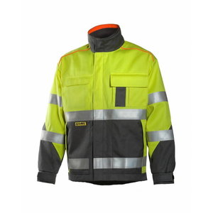 Welders jacket Multi  6000, yellow/grey 3XL, Dimex