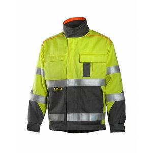 Welders jacket Multi  6000, yellow/grey 3XL, Dimex