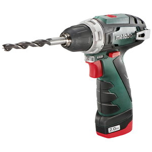 Akutrell PowerMaxx BS Basic, kohvris / 2x2,0Ah, Metabo