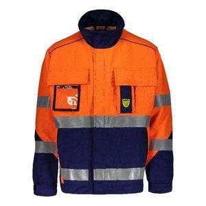 Welders jacket Multi  6000B, orange/dark blue, Dimex