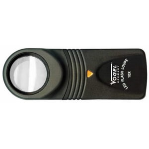LED-Handheld Magnifier 15 x, Ø 21mm, Vögel