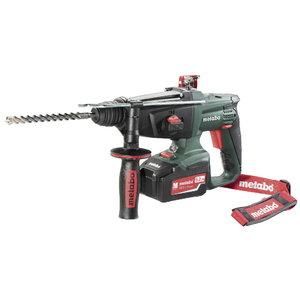 Cordless combi hammer KHA 18 LTX / 2x5,2Ah, Metabo
