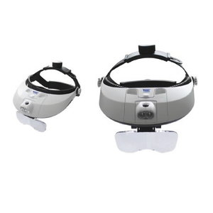 LED-Headlamp Magnifier, Vögel