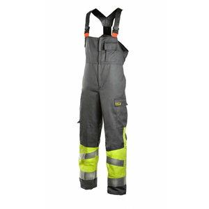 Welders bib-trousers Multi  6002, yellow/grey 3XL, Dimex