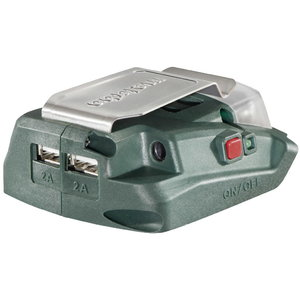 Adapters PA 14.4-18 LED-USB, carcass, Metabo