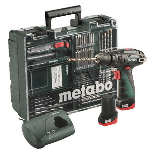 Löögiga akutrell PowerMaxx SB Mobile workshop, 2x2,0 Ah, Metabo