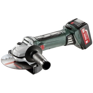 Cordless angle grinder W 18 LTX 150 Quick / 2x5,2 Ah, Metabo
