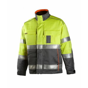 Welders winter jacket Multi 6004, yellow/grey, Dimex