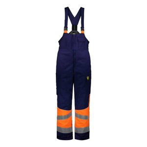 Welders winter bib-trousers Multi 6005, blue/orange M, Dimex