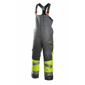 Welders winter bib-trousers Multi 6005, yellow/grey, Dimex