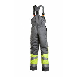 Welders winter bib-trousers Multi 6005, yellow/grey S, Dimex