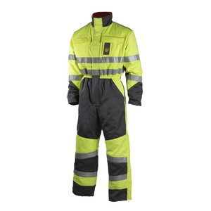 Welder winter overall Multi 6007, HI-VIS yellow/grey 2XL, , Dimex
