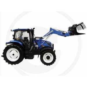 Model 1:32 New Holland T6.145 with front loader, Granit