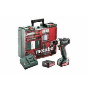 Akutrell PowerMaxx BS 12 Mobile Workshop, 63 osa/2x2,0Ah, Metabo