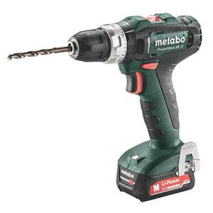 Cordless impact drill PowerMaxx SB 12/2x2,0 Ah, Metabo