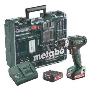 Löögiga akutrell PowerMaxx SB 12, Mobile Workshop / 2x2,0 Ah