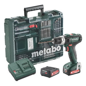 Cordless impact drill PowerMaxx SB 12Mobile Workshop/2x2,0Ah, Metabo