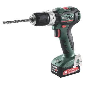 Cordless impact drill PowerMaxx SB 12 BL /2x2,0 Ah, Metabo