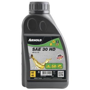 Murutraktoriõli/muruniidukiõli SAE30 4T 600ml, Arnold